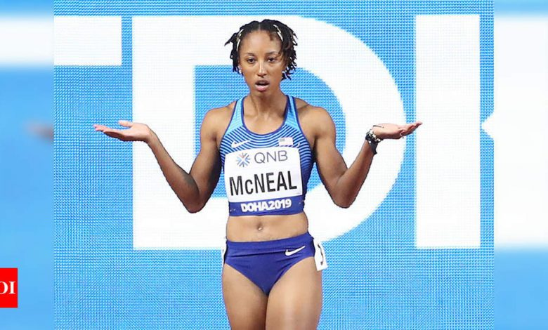 Olympic hurdles champion McNeal suspended for violating anti-doping rules | More sports News - Times of India
