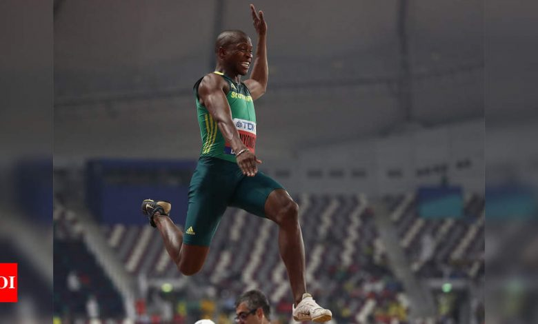 Olympic silver medallist Manyonga gets provisional suspension   More sports News - Times of India