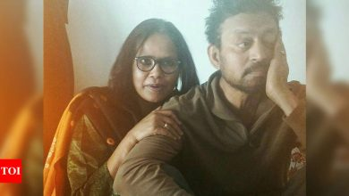 On her birthday, Sutapa Sikdar pens an emotional note remembering Irrfan Khan: How is it up there? Do you still forget birthdays? - Times of India