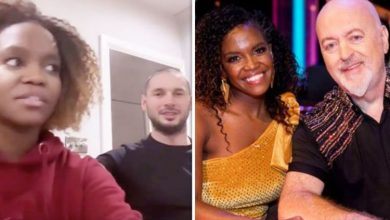 Oti Mabuse's husband confronts her over Strictly partner Bill Bailey's 'dangerous' move