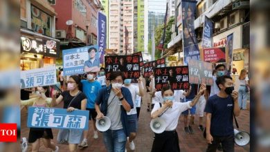 Over 50 Hong Kong democracy activists arrested under national security law-media - Times of India