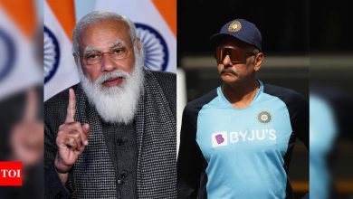 PM Modi's words will further strengthen Team India: Ravi Shastri | Cricket News - Times of India