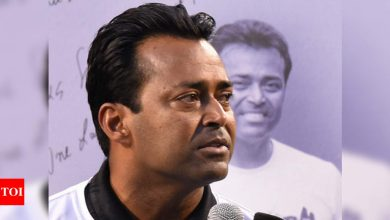 Paes eyeing French Open comeback in record eighth straight Olympics bid   Tennis News - Times of India