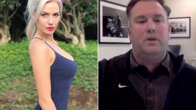 Paige Spiranac calls out Jared Porter: 'Ween pics' are never the move