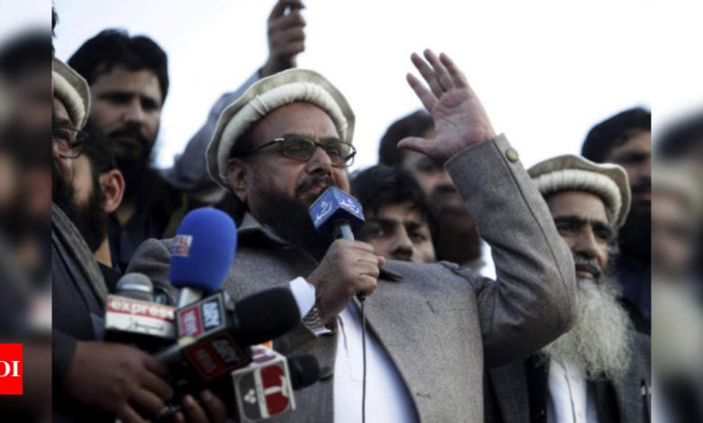 Pak court sentences Hafiz Saeed's two close aides to over 15 years in jail in terror financing case - Times of India