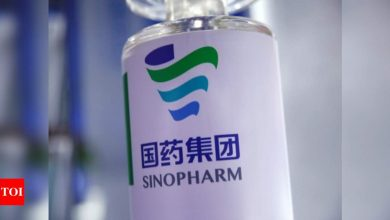 Pakistan approves Chinese Sinopharm Covid -19 vaccine for emergency use - Times of India