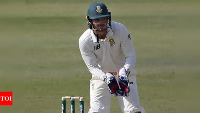 Pakistan vs South Africa: First innings performance cost us the game, says Quinton de Kock | Cricket News - Times of India