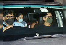 Photos: Aamir Khan gets snapped with daughter Ira Khan as they leave their house - Times of India