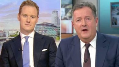 Piers Morgan reignites feud with Dan Walker in viewing figures swipe