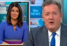 Piers Morgan says he and GMB co-star Susanna Reid have 'never been heavier'