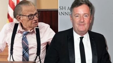 Piers Morgan talks feud with Larry King after host, 87, dies 'He hated me replacing him'