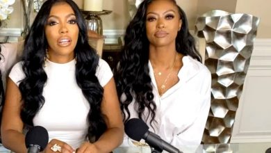 """PHOTO: Porsha Williams' Sister Lauren Shares Picture of Her Mom as Porsha Williams Blasts Trolls For Messing With Her Family, RHOA Star Claims """"She Has Idea"""" Who"""