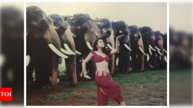 Preity Zinta shares her 'favourite' picture from her 'Dil Se' shoot - Times of India