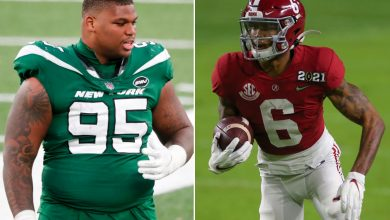 Quinnen Williams: Jets should skip QB in draft, take DeVonta Smith instead