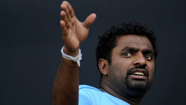 File image of Sri Lanka's Muttiah Muralitharan. Reuters