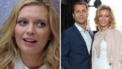 Rachel Riley raises eyebrows as she wishes husband Pasha happy birthday with 'freaky' snap