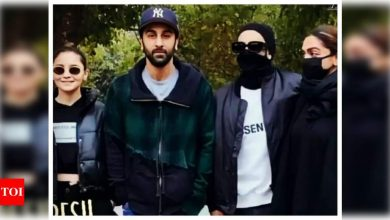 Ranbir Kapoor-Alia Bhatt and Deepika Padukone-Ranveer Singh come together for an EPIC photo in Ranthambore - Times of India