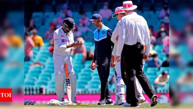 Ravindra Jadeja out of first two Tests against England, might bat with injections if required in Sydney | Cricket News - Times of India