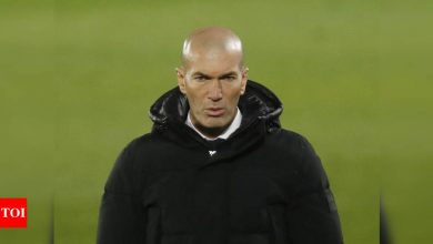 Real Madrid coach Zidane tests positive for coronavirus | Football News - Times of India