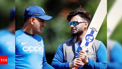 Rishabh Pant:  MS Dhoni comparisons amazing but Rishabh Pant wants a name for himself in Indian cricket | Cricket News - Times of India