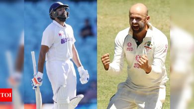 Rohit Sharma:  India vs Australia: Rohit Sharma falls to Nathan Lyon yet again, the sixth time in Tests | Cricket News - Times of India