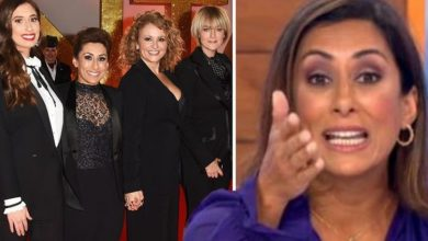 Saira Khan says she only 'tolerates' some Loose Women co-stars as she sheds light on exit