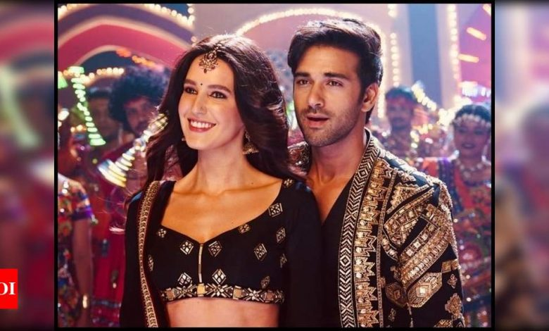 Salman Khan is all praise for Katrina Kaif's sister Isabelle Kaif and Pulkit Samrat's first look from 'Suswagatam Khushaamadeed' - Times of India