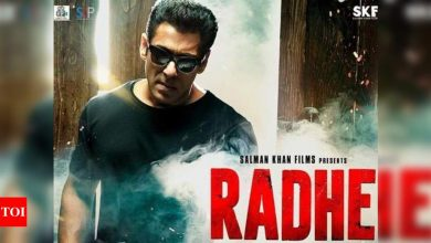 Salman Khan receives written request to release 'Radhe' in theatres and not OTT platform - Times of India