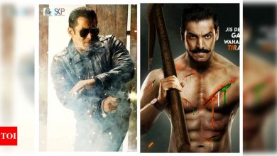 Salman Khan's 'Radhe: Your Most Wanted Bhai' to clash with John Abraham's 'Satyameva Jayate 2' at the box-office as they gear up for an Eid release - Times of India