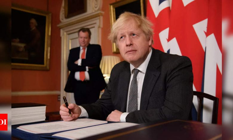 Schools are safe, say UK PM Johnson as Covid-19 cases surge - Times of India