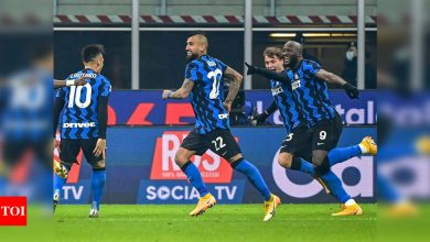 Serie A: Inter beat Juventus to move level with leaders Milan | Football News - Times of India