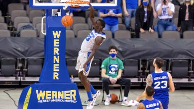 Seton Hall blown out by Creighton