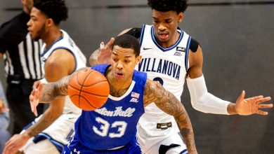 Seton Hall's upset bid of Villanova falls just short
