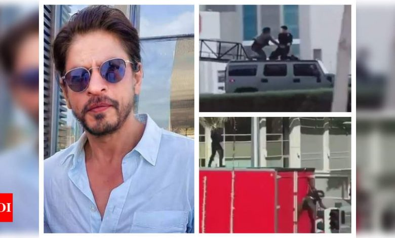 Shah Rukh Khan's 'Pathan' to have 'Mission Impossible' style action scenes on moving cars and buses – Watch - Times of India
