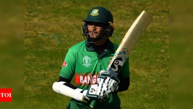 Shakib set to return to international cricket, included in Bangladesh squad for West Indies series | Cricket News - Times of India