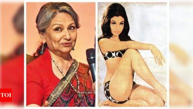 Sharmila Tagore opens up about posing in a bikini for the cover of Filmfare in 1966, says she had no qualms doing the shoot - Times of India