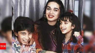 Shraddha Kapoor looks too adorable in THIS throwback picture with brother Siddhanth; check it out - Times of India