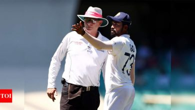 Siraj was allegedly referred to as 'Brown Dog', 'Big Monkey': BCCI sources | Cricket News - Times of India