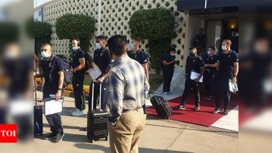 South African team forced into last-minute charter flight dash to Pakistan | Cricket News - Times of India