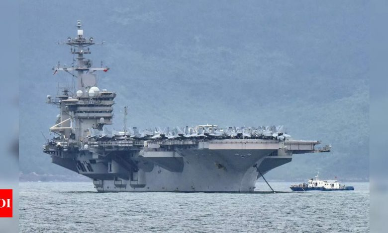 South China Sea tension flares again as Joe Biden takes charge - Times of India