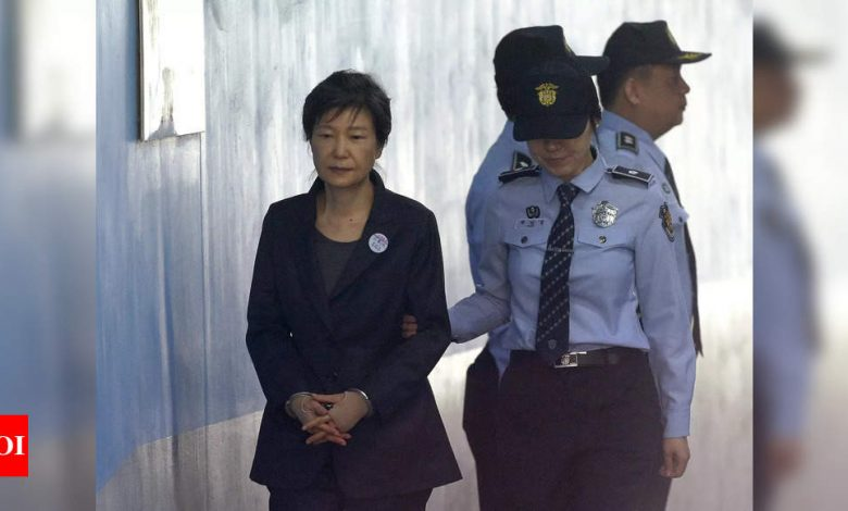 South Korea court upholds 20-year jail term for ex-president Park Geun-hye - Times of India