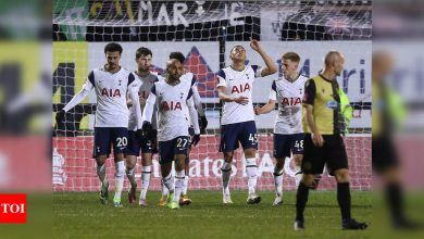 Spurs see off Marine to avoid FA Cup's biggest ever shock | Football News - Times of India