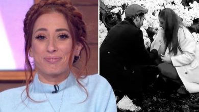 Stacey Solomon almost caused Joe Swash a panic attack in 'nightmare' before proposal