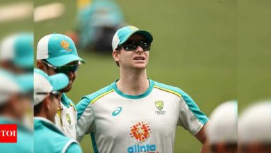 Steve Smith:  India vs Australia: Let's see if Steve Smith repeats SCG act at Gabba, says Michael Vaughan | Cricket News - Times of India