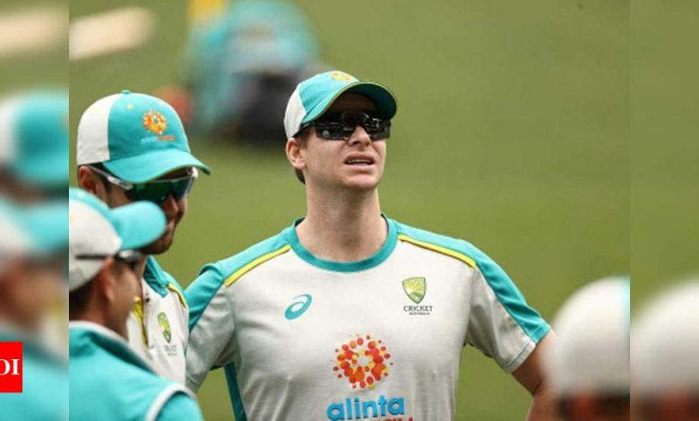 Steve Smith:  India vs Australia: Let's see if Steve Smith repeats SCG act at Gabba, says Michael Vaughan   Cricket News - Times of India