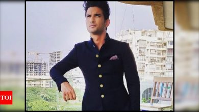 Street in Delhi to be named after Sushant Singh Rajput who would have turned 35 today - Times of India