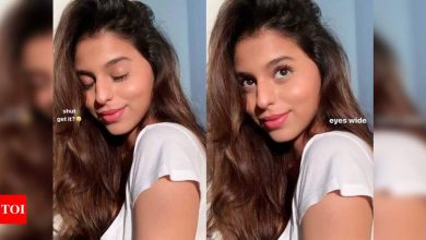 Suhana Khan treats everyone with her mesmerising pictures on Instagram - Times of India
