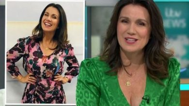 Susanna Reid gets incredible Disney makeover as boob-baring dress sparks frenzy on GMB