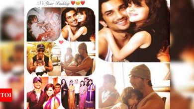 Sushant Singh Rajput's sister Shweta Singh Kirti shares a collage of pictures with the actor on his birth anniversary - Times of India
