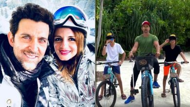 Sussanne calls Hrithik Roshan the best dad in the world on his b